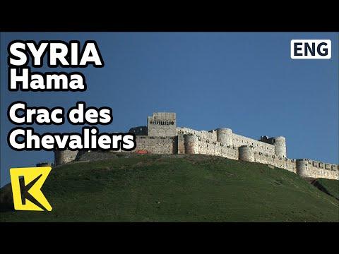 【K】Syria Travel-Homs[시리아 여행-홈스]십자군 기사들의 성, 크락 데 슈발리에/Crac des Chevaliers/Crusades/Castle/Fort/Temple
