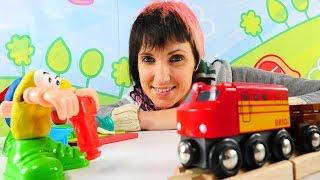 Мультики и видео для детей Весёлая Школа. Стройка