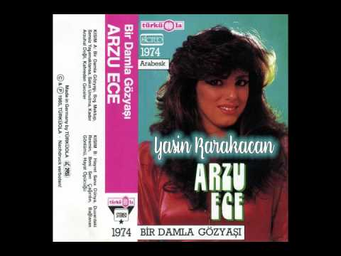 Arzu Ece - Hayret Sana Dünya 1985 - Yedek Eser - Türküola 1974 (Alman Baski)