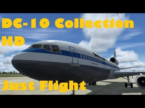 Just Flight DC-10 Collection HD Full Review  (Part of the F-Lite range)  | FSX | Steam | Prepar3d