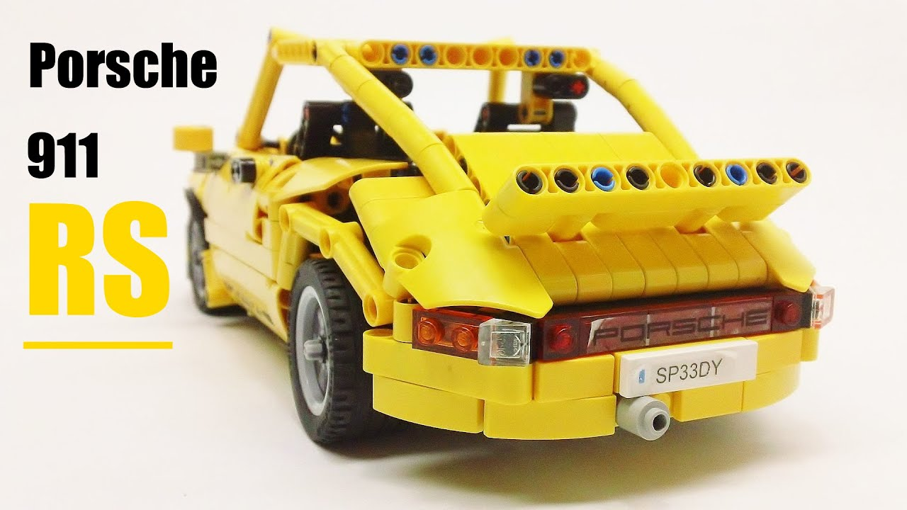 Lego Technic 1974 Porsche 911 Carrera Rs Youtube