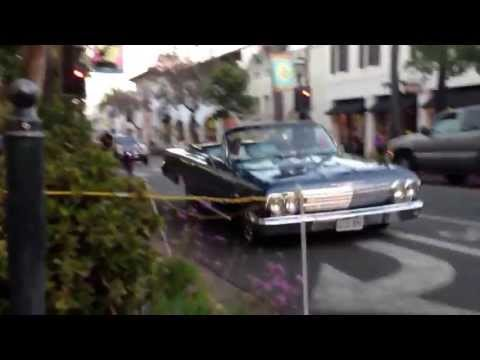 Low Rider in State Street, Santa Barbara, California