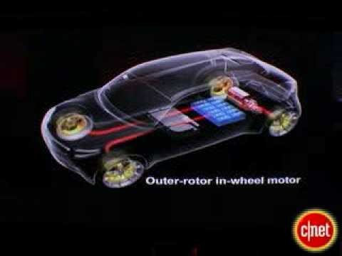 Electric Car Wheel Motor System Explained Mitsubishi Miev Youtube