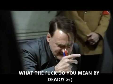 Hitler finds out steve jobs died