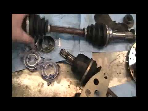 Part 1 Yamaha Wolverine 350 4x4 Cv Joint Change And