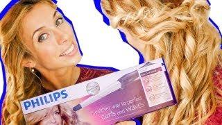 3в1:кудрявые волосы / ПРАВИЛА укладки / ОБЗОР плойки Philips