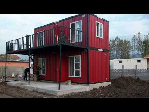 shipping container home engineering - engineer leaves oil business to make shipping container homes