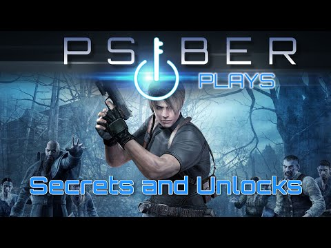 Resident Evil 4 Secrets and Unlocks