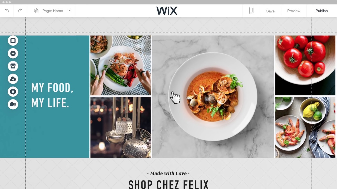 how to make a game website on wix