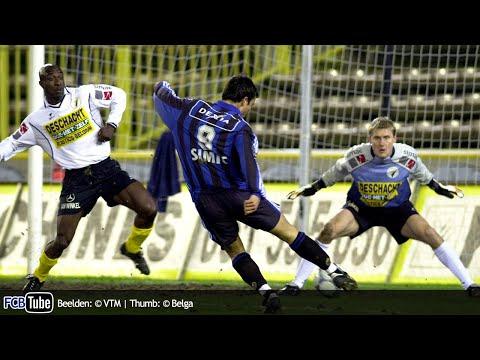 2001-2002 - Beker Van België - 04. Halve Finale - Club Brugge - Sporting Lokeren 3-0