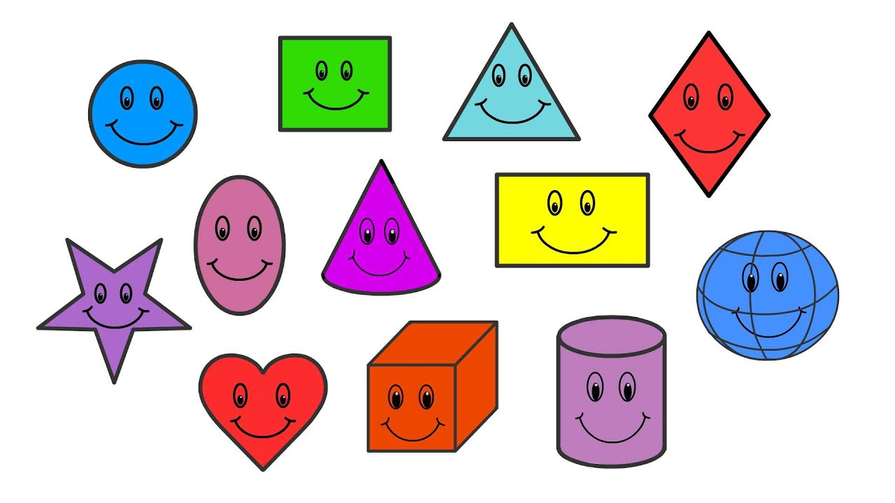 Shapes For Kids In English Learn 12 Basic Shapes For