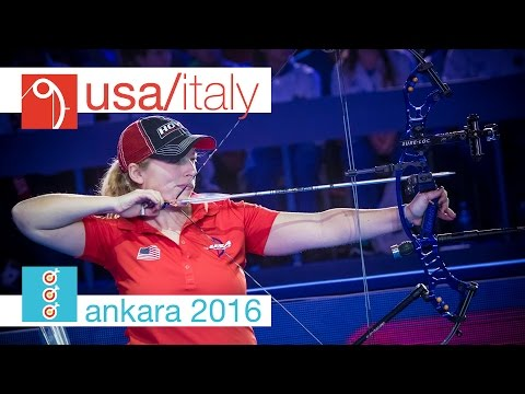 USA v Italy – Compound Women's Team Bronze Final | Ankara 2016