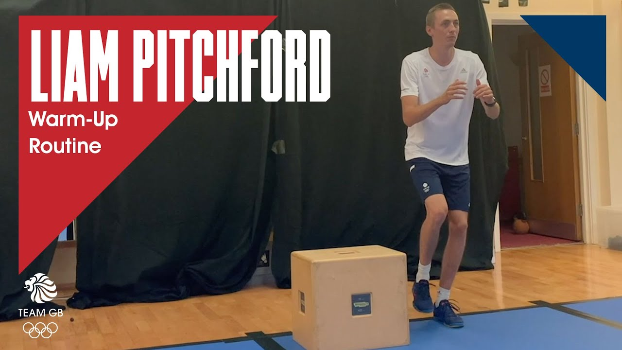 Liam Pitchford's Table Tennis Warm-Up Routine | Workout Wednesday