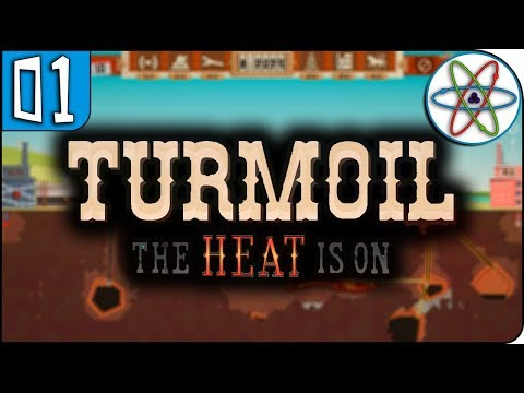 Turmoil - The Heat Is On | Em busca do petróleo quente! Ep 01 - Gameplay PT BR