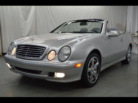 2000 Mercedes Benz Clk 320 Convertible Super Clean