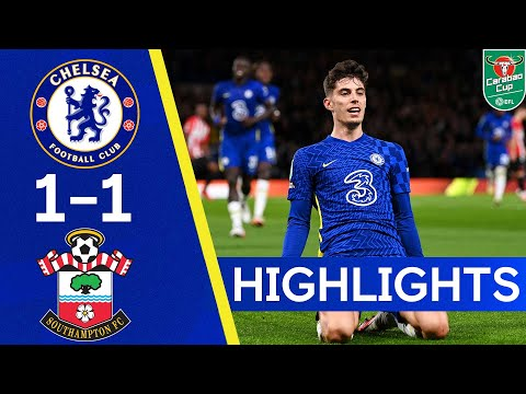 Chelsea 1-1 Southampton | The Blues Come Out On Top After Penalties | Highlights