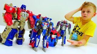 Оптимуса клонировали! – Где настоящий Автобот? – Роботы Трансформеры.