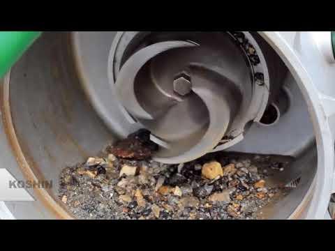 Обзор мотопомпы для грязной воды (Trash Pump) KOSHIN KTH-100S