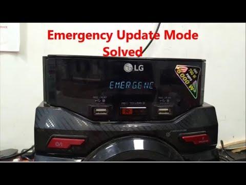 LG HiFi Emergency Update Mode Solved