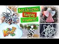 Best Christmas Hanging Ornaments | DIY by Creative Mom