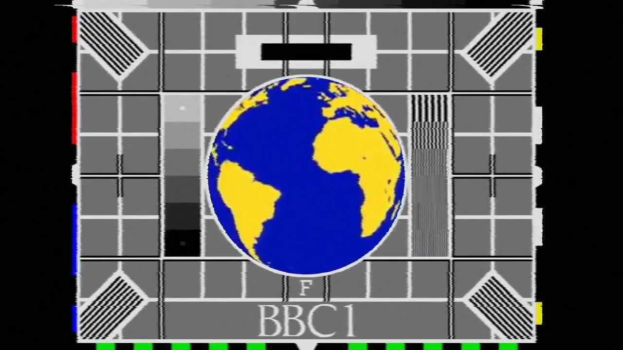 bbc 1 test card mock - globe