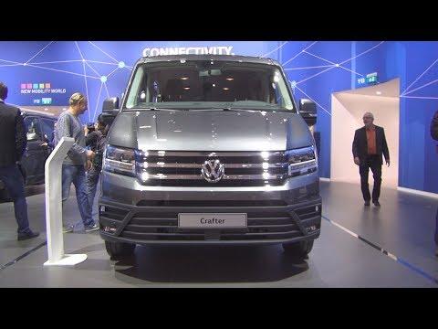 Volkswagen Crafter Combi 2.0 TDI 130 kW 8AT Bus (2019) Exterior and Interior