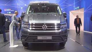Volkswagen Crafter Combi 2.0 TDI 130 kW 8AT Bus (2019) Exterior and Interior