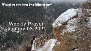Congregational Church of Boothbay Harbor Weekly Prayer for January 03 2021