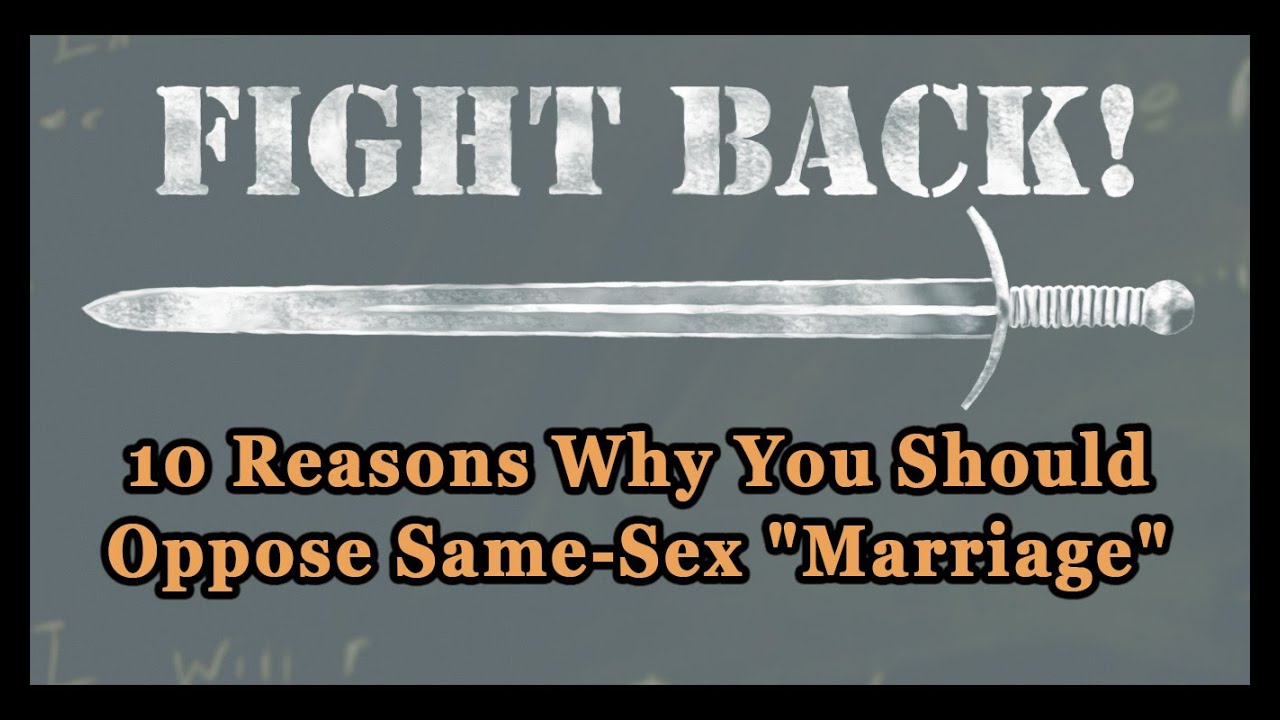Why same sex marriage should be legal essay