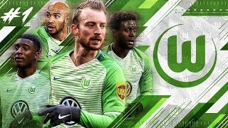 FIFA 18 WOLFSBURG CAREER MODE #1 - 37.000.000 TO WIN THE BUNDESLIGA TITLE!