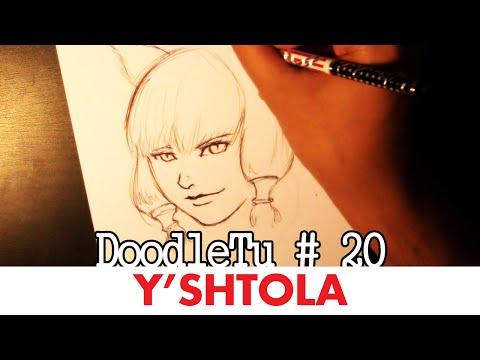 Let's Draw...Y'shtola! (Final Fantasy XIV) - DoodleTu #20