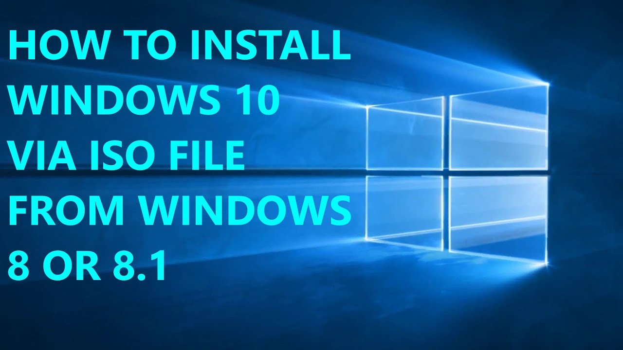 How to install windows 10 from windows 8 or 81 youtube how to install windows 10 from windows 8 or 81 ccuart Gallery