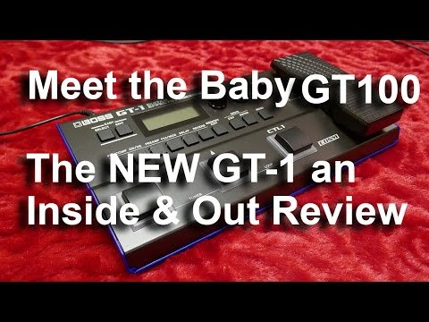Roland Boss GT-1 Inside & Out Review Effects Pedal Meet the