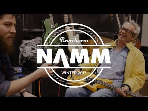 Mike Watt Talks About the New Signature Reverend Wattplower Bass at NAMM 2017