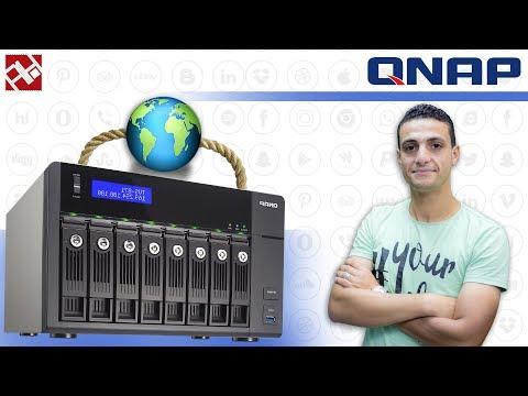ازاى تعمل Web Server وموقع على جهاز QNAP