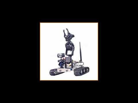 Xiao R GFS DIY Wifi Robot Arm Car Metal Chassis Arduino2560 RaspberryPi 3 Board