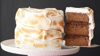 Triple Layer S'MORE CAKE - Gemma's Bigger Bolder Baking Ep 181