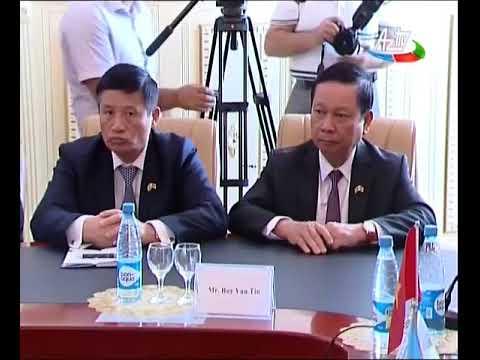 Vyetnam Kommunist Partiyası Mərkəzi Komitəsinin katibi Bakı Dövlət Universitetində olub 12 09 2017