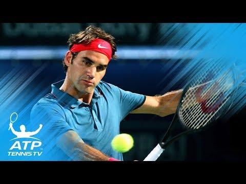 Roger Federer's Best Ever Shots in Dubai