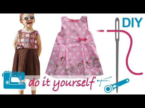 DIY Kleid nähen für Anfänger – mit nahtfeinem RV und Futter ...