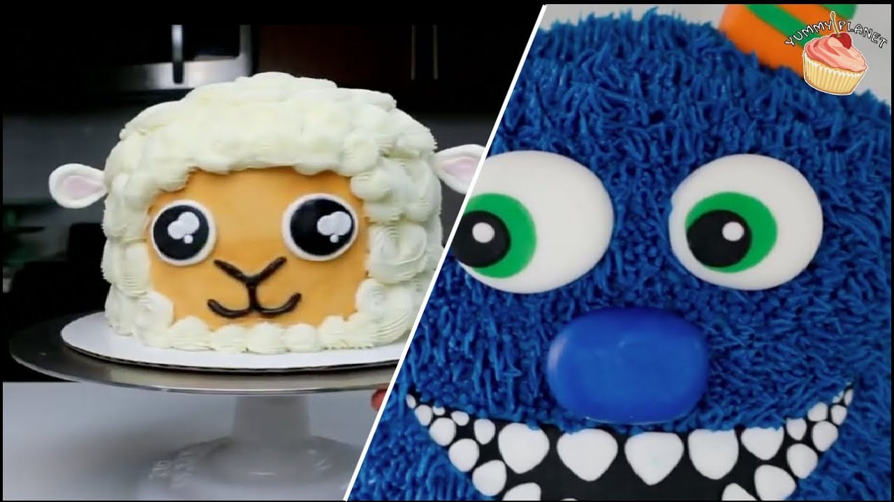 10 COOL BIRTHDAY CAKE IDEAS FOR KIDS - YouTube