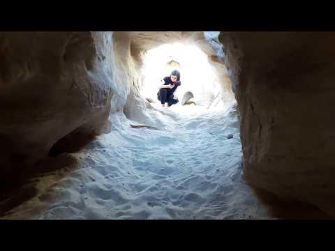 Exploring Timna Park's copper mines