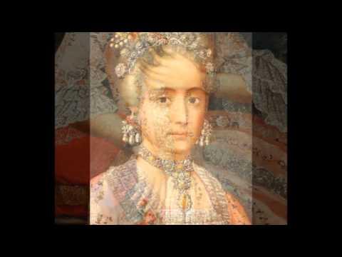 Rosa Maria Salazar.Dona Rosa Maria Salazar Y Gabino Countess Of Monteblanco And Montemar