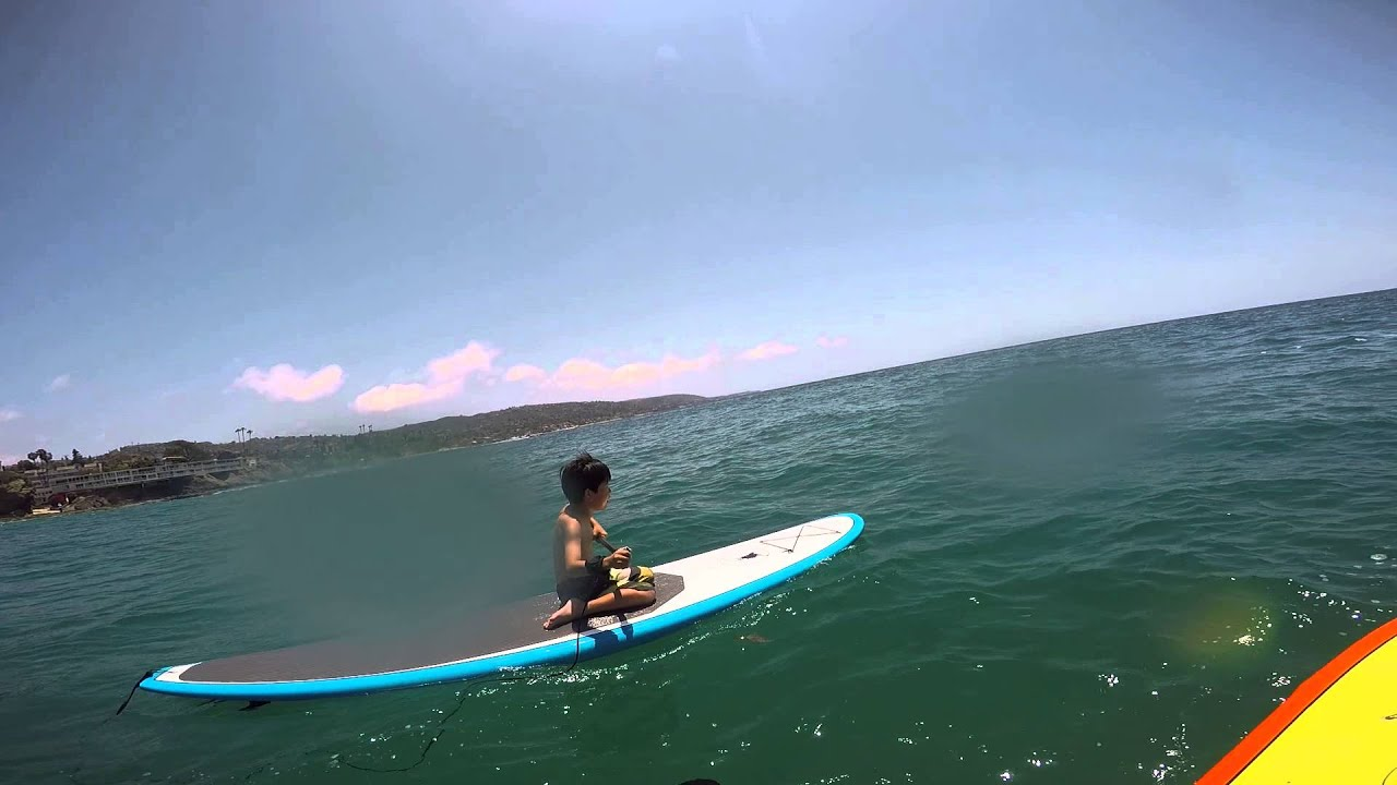 Laguna Beach Stand Up Paddle Boarding