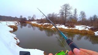 РЕКА ДАЛА ЖЕЛАЕМОЕ хоть и не сразу Закрыли весенний спиннинг Ловля щуки Рыбалка на спиннинг