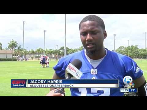 Jacory Harris Finds New Home With Alouettes