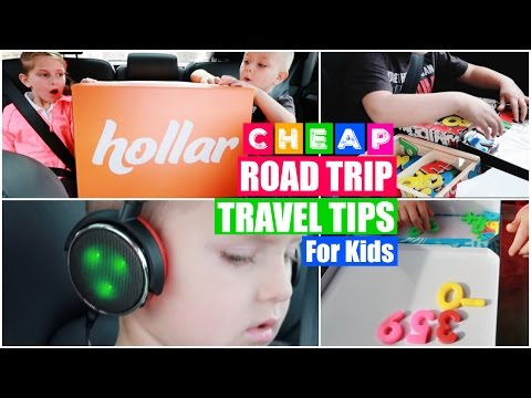 Thumbnail: CHEAP Road Trip Survival Hacks for Traveling with Kids! (Feat. HOLLAR)