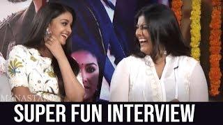 Actress Keerthy Suresh and Varalakshmi Diwali Special Interview About Sarkar | Manastars