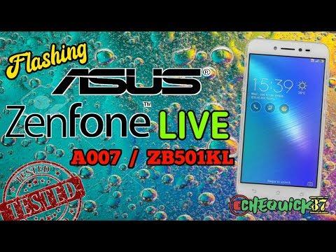 Asus Zenfone Live ZB501KL Firmware Videos - Waoweo