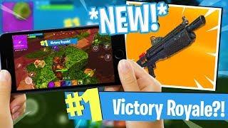 *NEW* HEAVY SHOTGUN UPDATE! - Fortnite Mobile Gameplay - Victory Royale